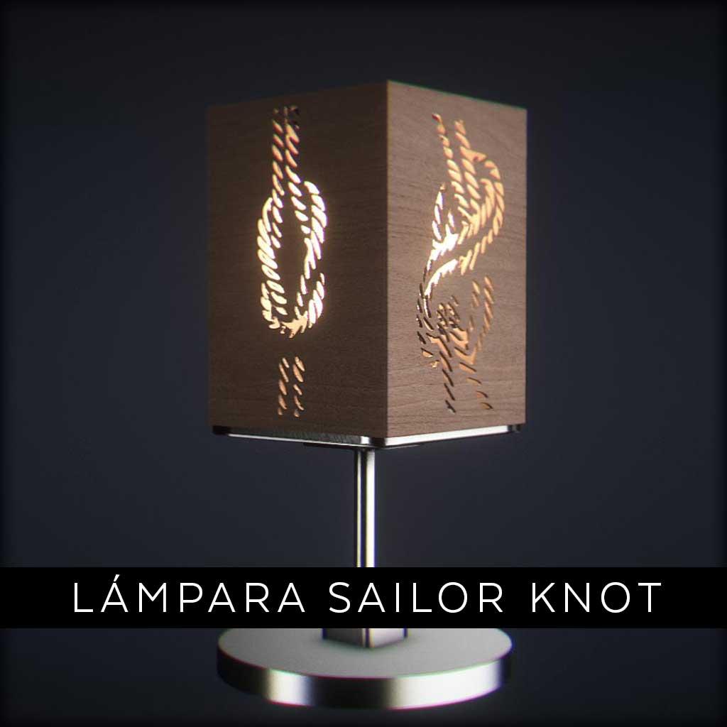Lámpara Sailor Knot