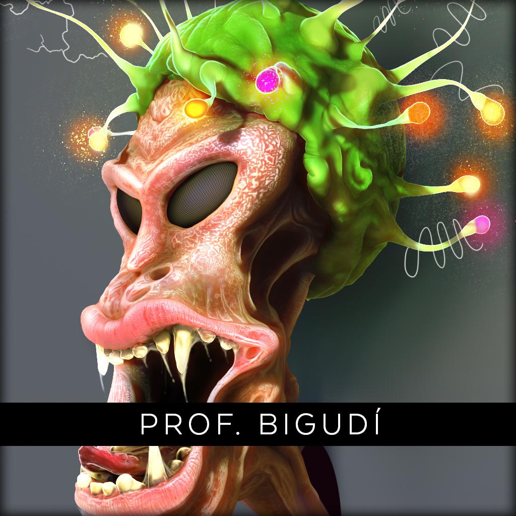 Profesor Bigudí
