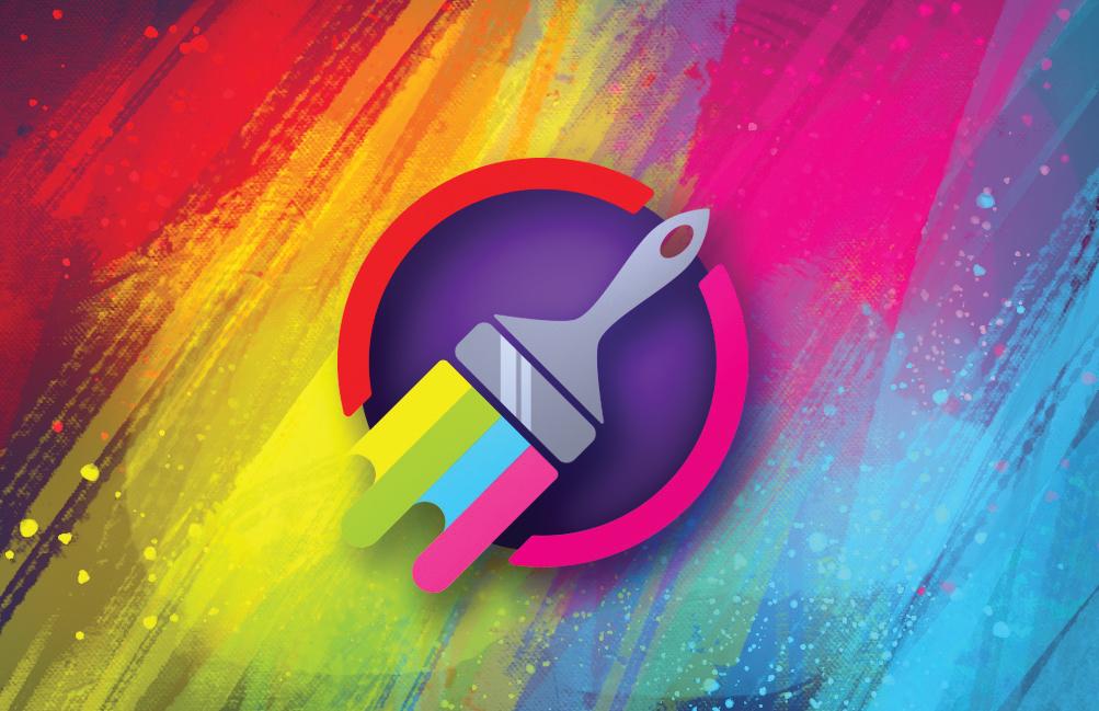 Artwork & logo – Painter