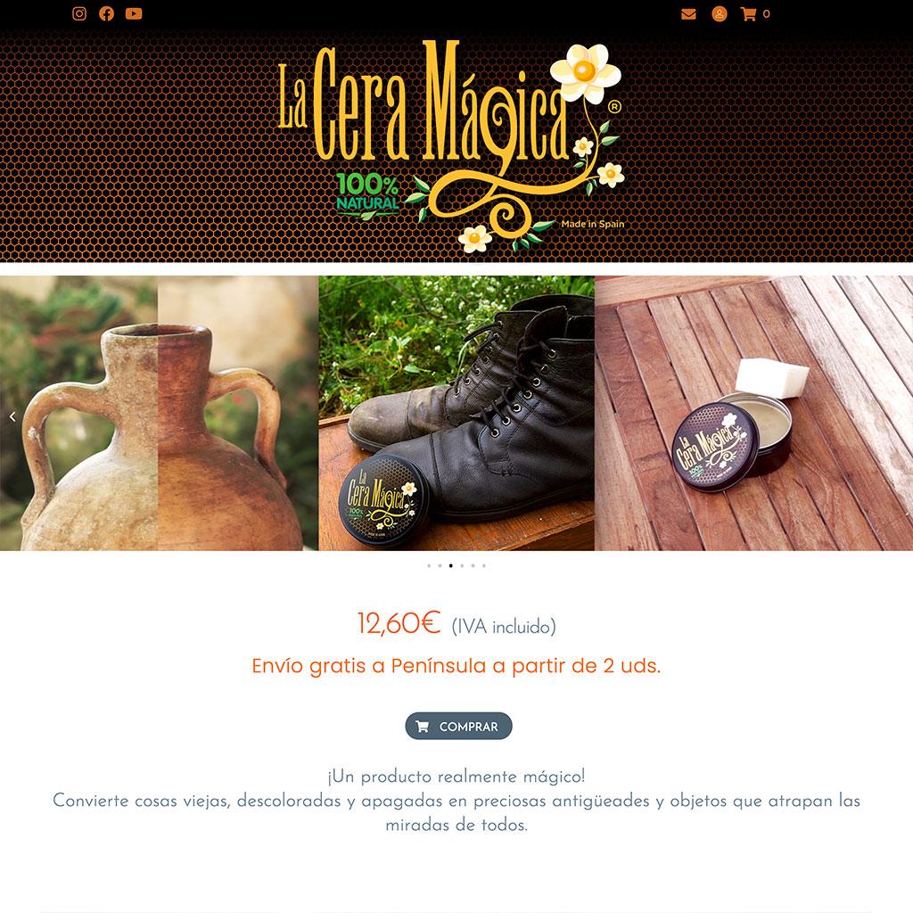 Web La Cera Mágica