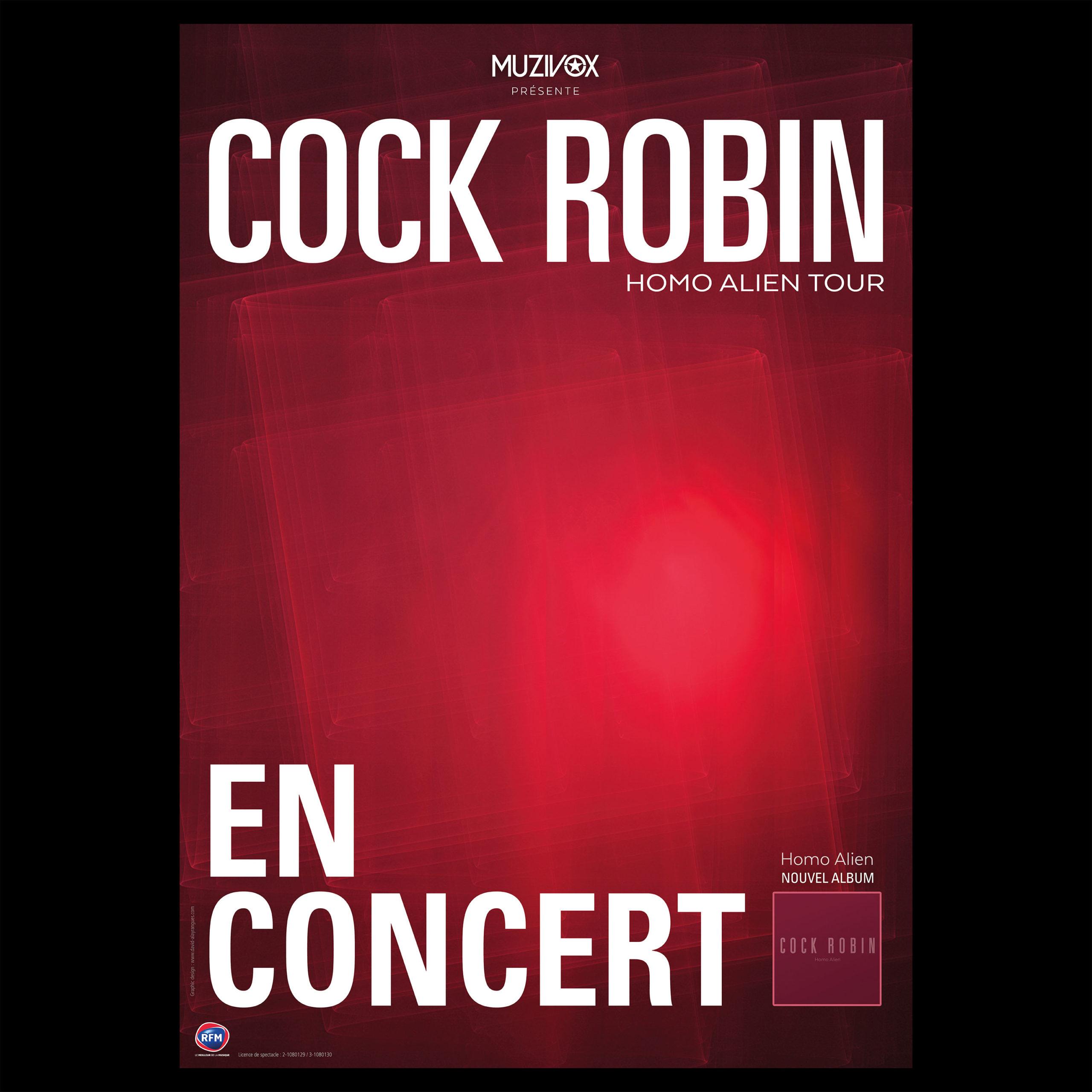 Cock Robin – Homo Alien Tour